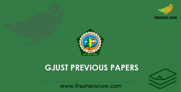 GJUST Previous Papers