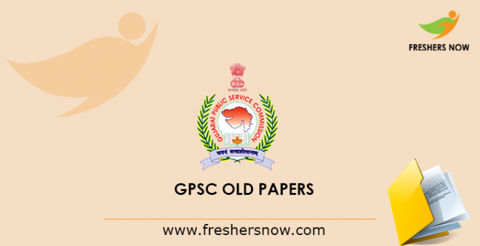 GPSC Previous Papers