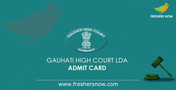 Gauhati High Court LDA Admit Card 2019