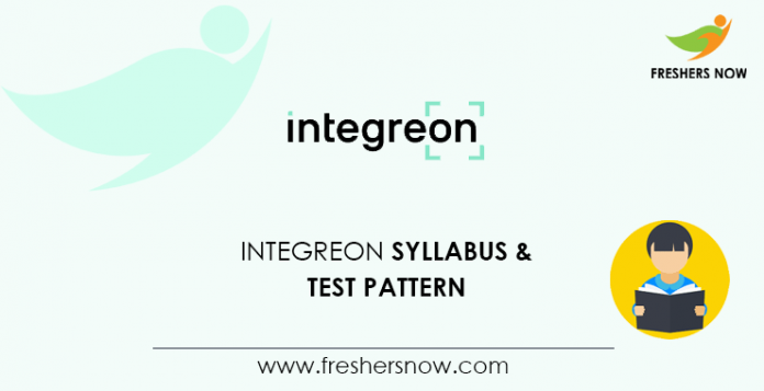 Integreon Syllabus 2020