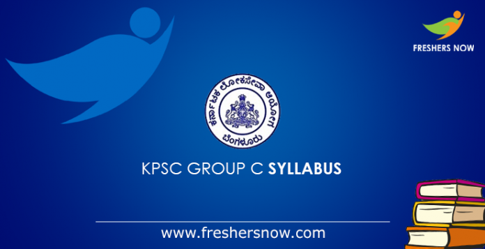 KPSC Group C Syllabus 2019