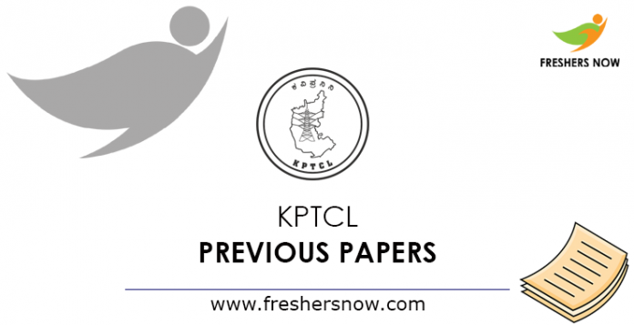 KPTCL Previous Papers