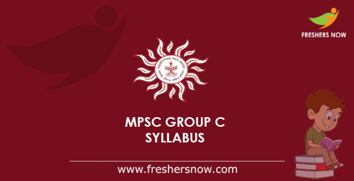 MPSC Group C Syllabus 2019