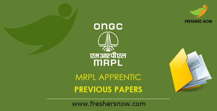 MRPL Apprentice Previous Papers