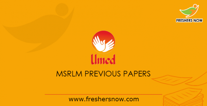 MSRLM Previous Papers