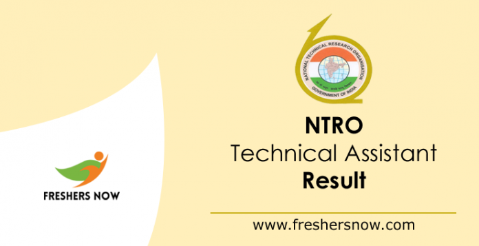 NTRO Technical Assistant Result 2019