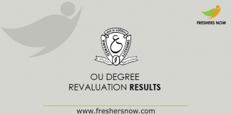 OU Degree Revaluation Results 2019
