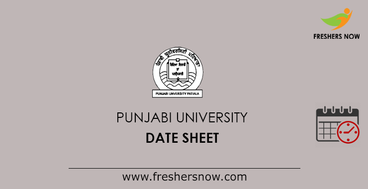 Punjabi University Date Sheet 2019 Pdf Out Semester Exam Schedule