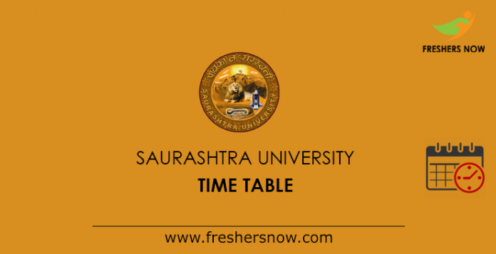 Saurashtra University Hours