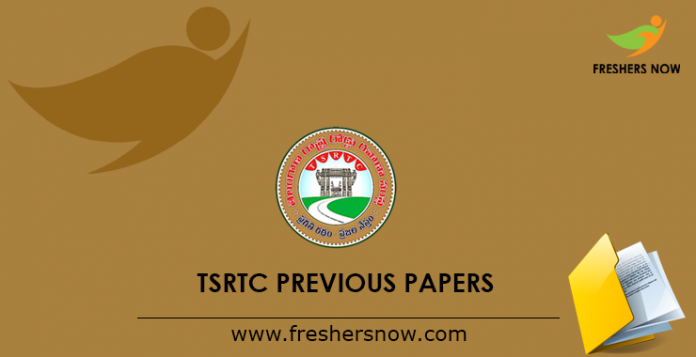 TSRTC Previous Question Papers PDF | Jr Assistant, Conductor