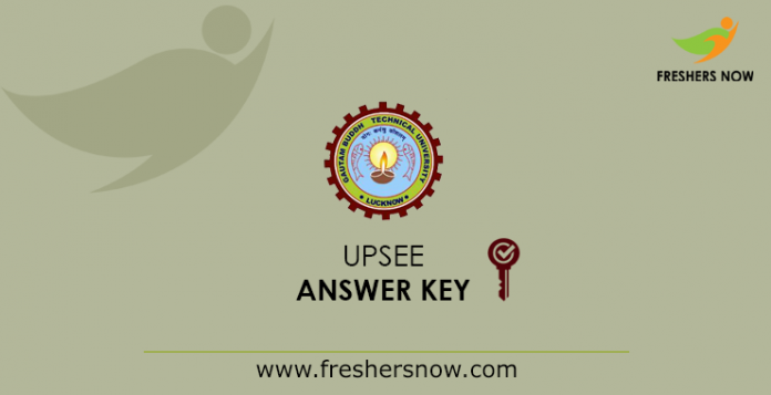 UPSEE Answer Key 2019