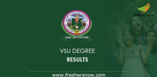 VSU Degree Result 2019