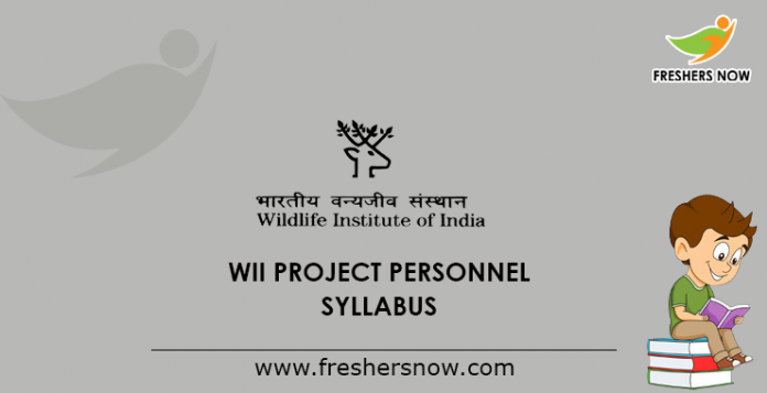 WII Project Personnel Syllabus 2019