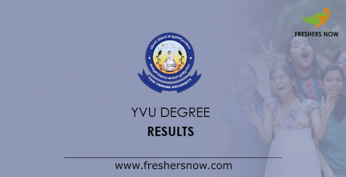 YVU Degree Result
