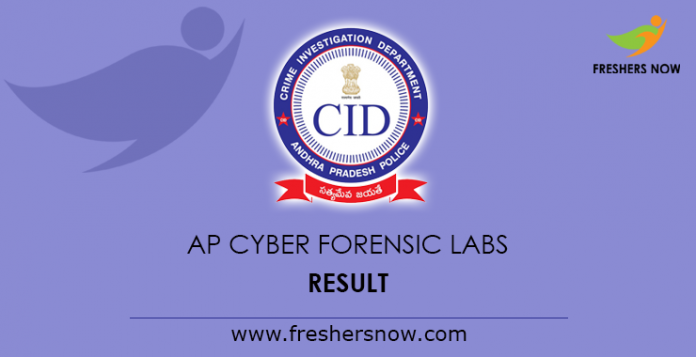 AP Cyber Forensic Labs Result 2019