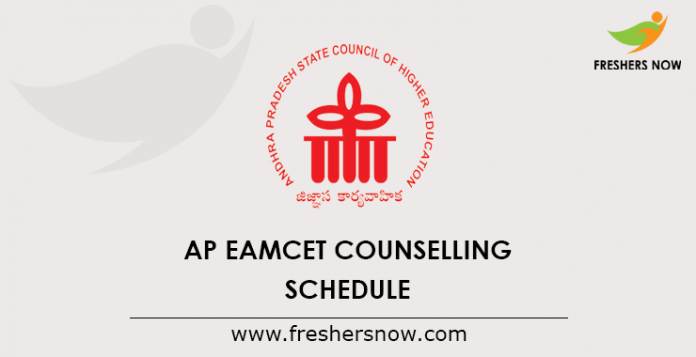 AP EAMCET Counselling 2019 Schedule