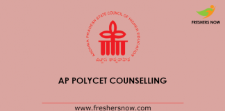 AP Polycet Counselling 2019