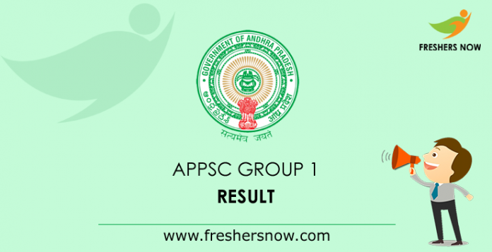 Results APPSC Group 1 2019