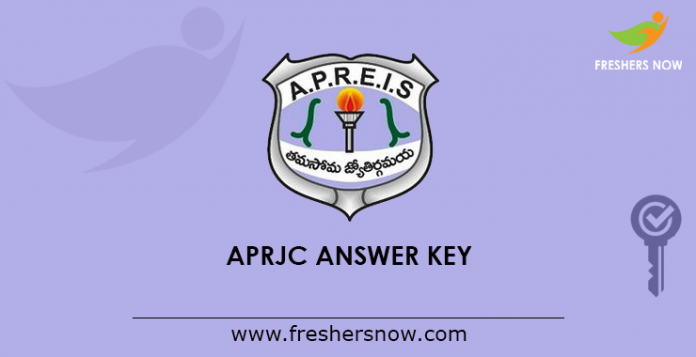 APRJC Answer Key 2019