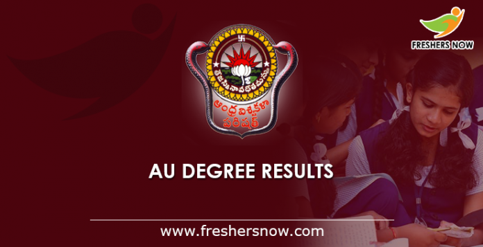AU Degree Results 2019