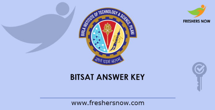 BITSAT Answer Key 2019 PDF | Set Wise Question Papers
