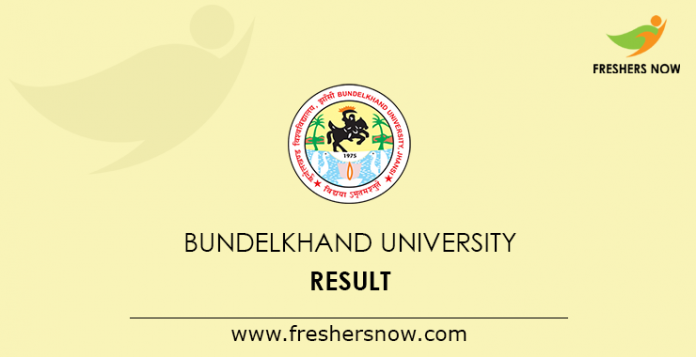 Bundelkhand University Result 2019