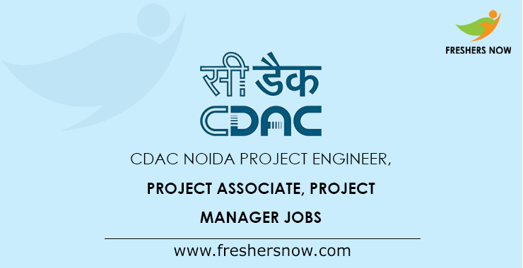 CDAC Noida Project Engineer Jobs 2019 - 163 Other Posts