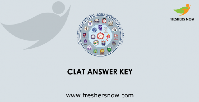CLAT Answer Key 2019
