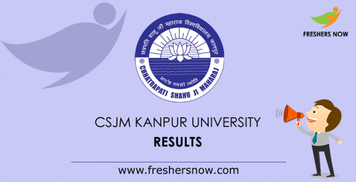 CSJM Kanpur University Results