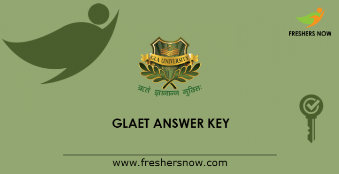 GLAET Answer Key 2019