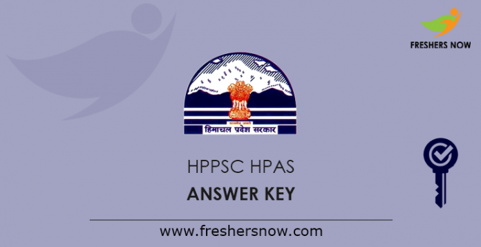 HPPSC HPAS Answer Key