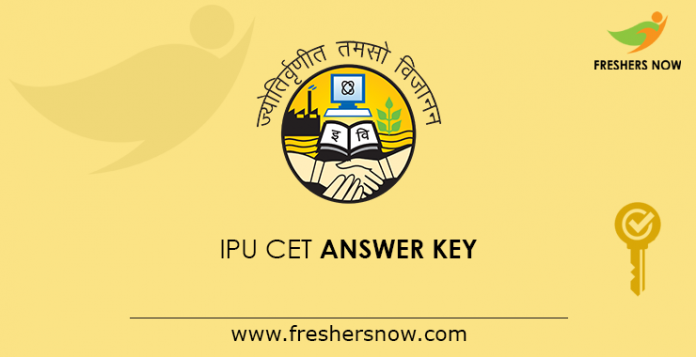 IPU CET Answer Key 2019
