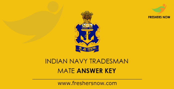 Indian Navy Tradesman Mate Answer Key 2019