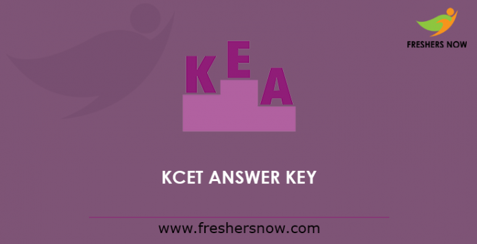 KCET Answer Key 2019 Released | Subject Wise PDF @ kea.kar ...