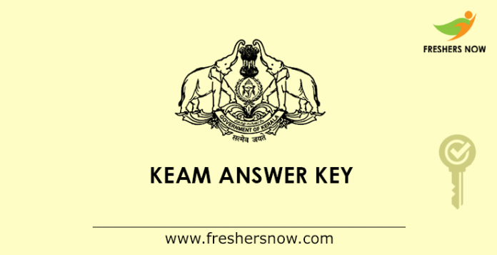 KEAM Answer Key 2019