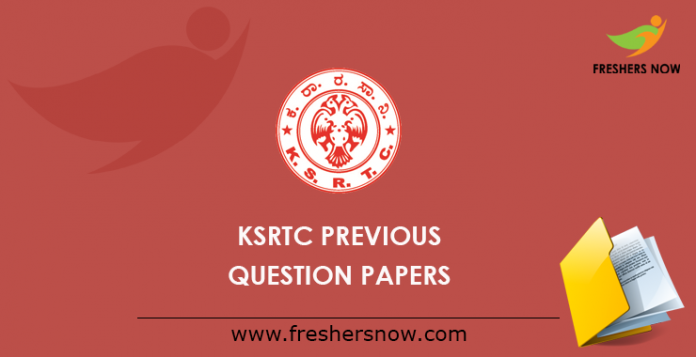 KSRTC Previous Papers