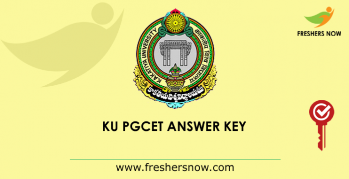 KU PGCET Answer Key 2019
