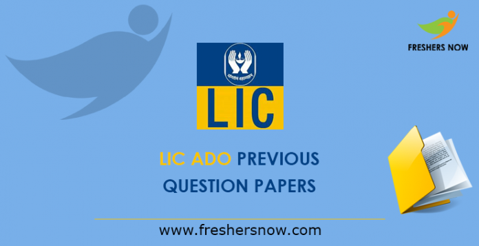 LIC ADO Previous Papers