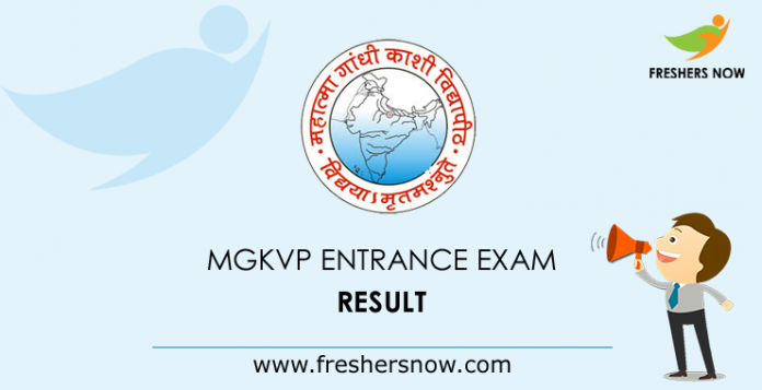 MGKVP Entrance Exam Result