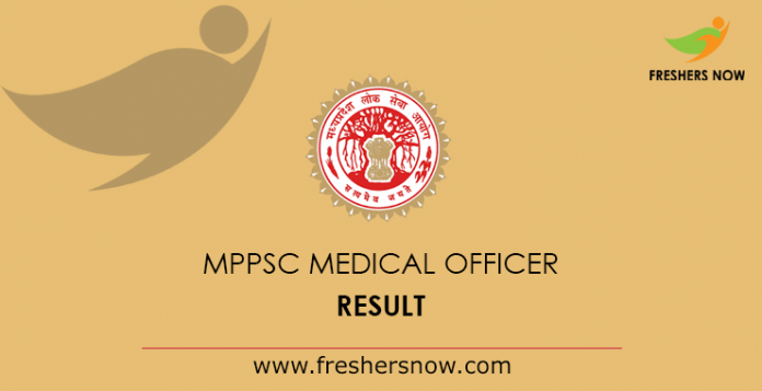 MPPSC-Medical-Officer-Result