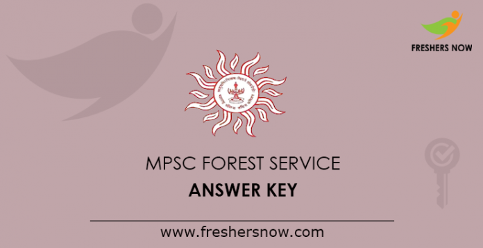 MPSC Forest Service Answer Key 2019