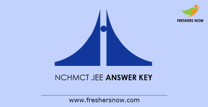 NCHMCT JEE Answer Key