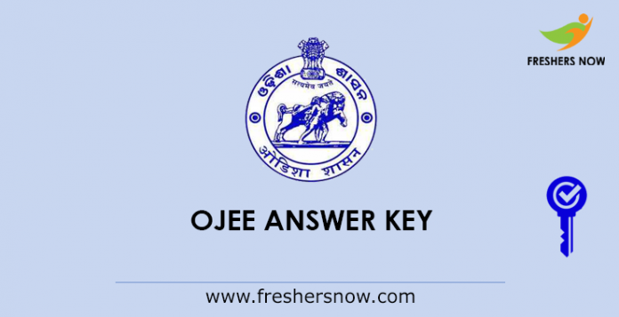 OJEE Answer Key 2019
