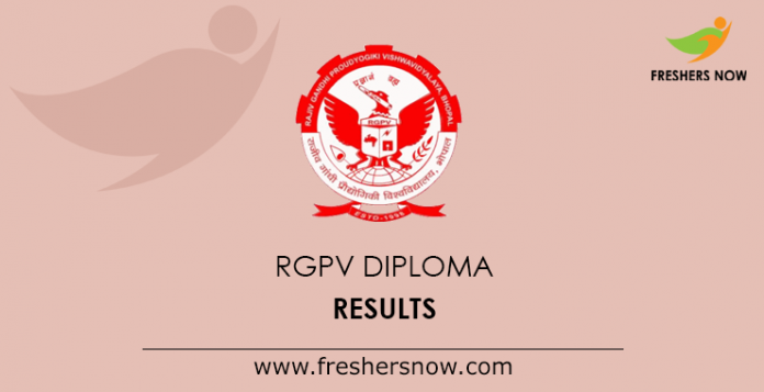 RGPV Diploma Results 2019 1st, 2nd, 3rd, 4th, 5th, 6th Sem
