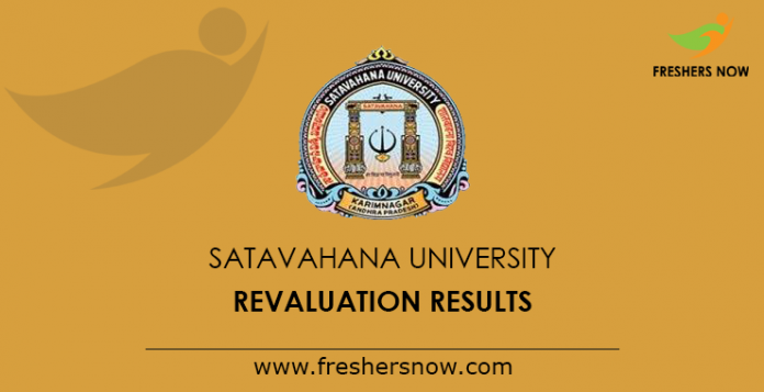 Satavahana University Degree Revaluation Results