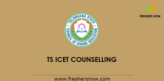 TS ICET Counselling