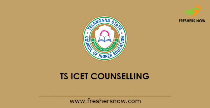 TS ICET Counselling 2019