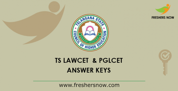 TS LAWCET, PGLCET Answer Key 2019