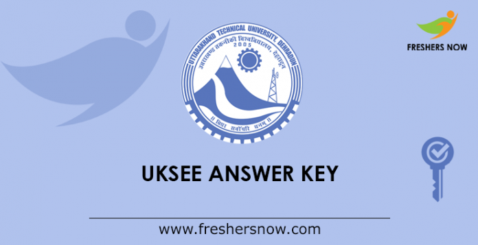 UKSEE Answer Key 2019