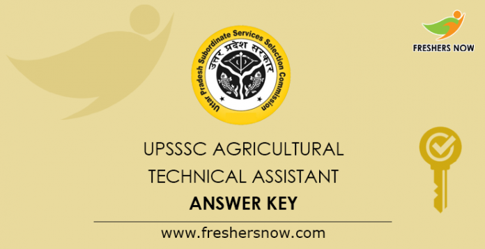 UPSSSC-Agricultural-Technical-Assistant-Answer-Key